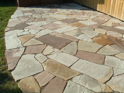 Attractive Stone Yard Dallas
